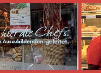 Stadtbäckerei Junge - Hier sind die Azubis die Chefs