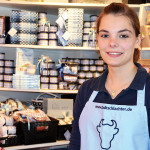Jessica Marten – bei der Stadtschlachterei Claußen