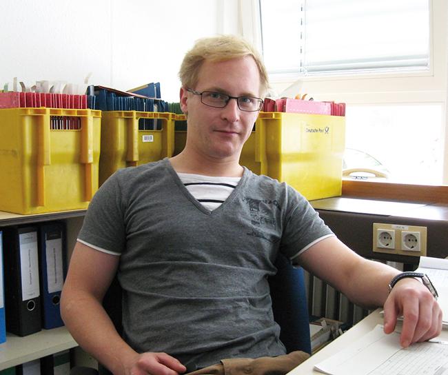 Mathias - Robi-Anwärter beim LBV-SH