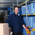 Philipp Dobbeck – Fachkraft für Lagerlogistik bei TRIXIE