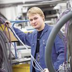 Marc: Wird Elektroniker für Betriebstechnik bei der Firma Gabler in Lübeck