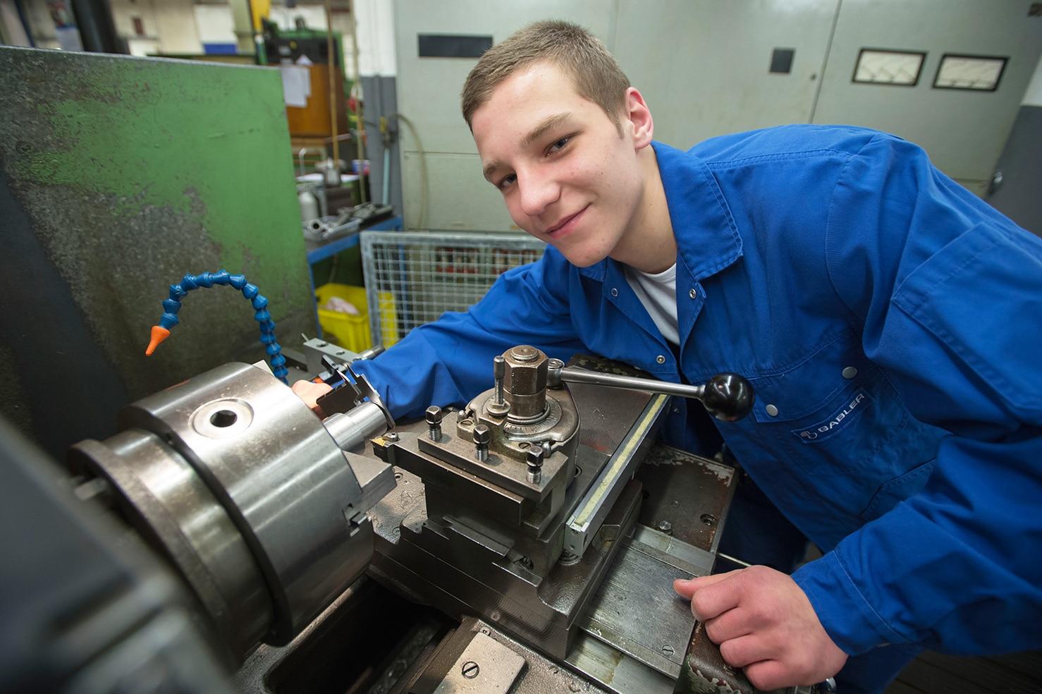 Zerspanungsmechaniker bei Gabler in Luebeck