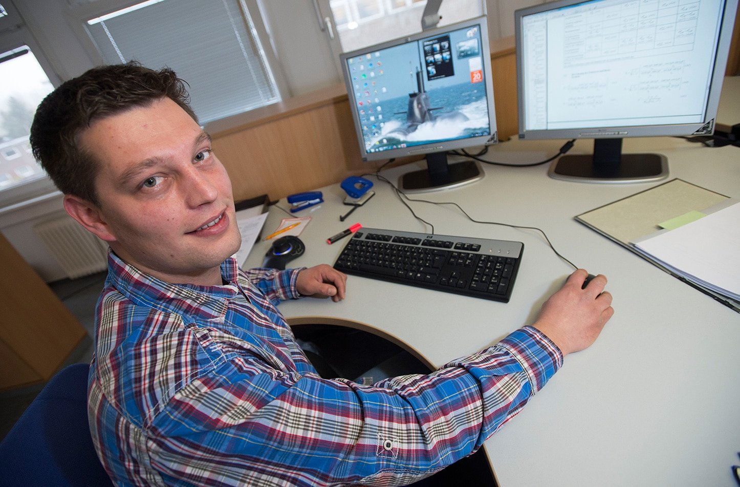 Mathias dualer Student Maschinenbau