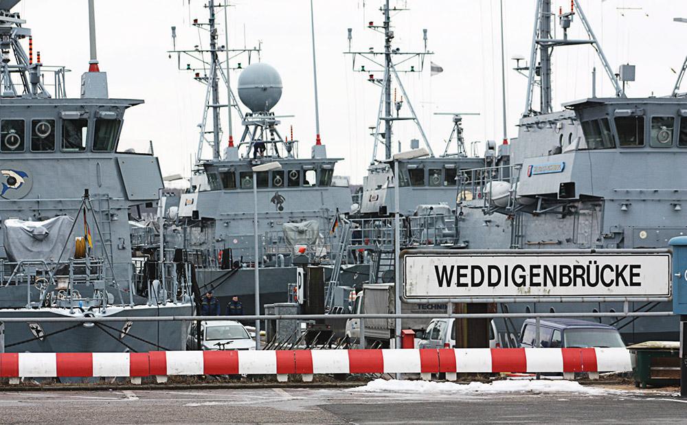 Bei der Bundeswehr an Bord
