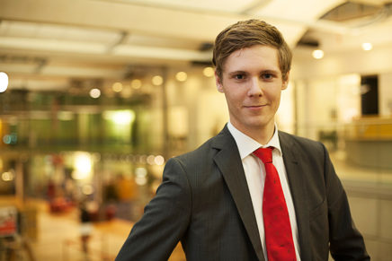 Gerrit Balk – Duales Studium bei der Förde Sparkasse