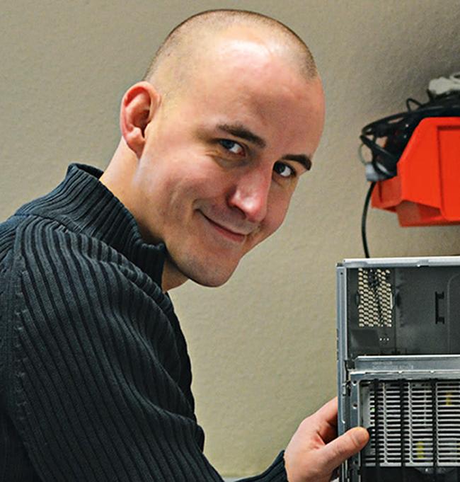 Sascha wird Fachinformatiker für Systemintegration
