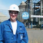 Simeon Riemer – Ausbildung zum Chemikanten bei der Yara Brunsbüttel GmbH