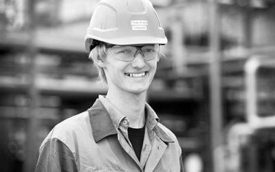 Philip André: Elektroniker für Automatisierungstechnik in der Industrie bei der Raffinerie Heide