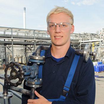 Steffen Erichson - Ausbildung zum Chemikanten bei Sasol