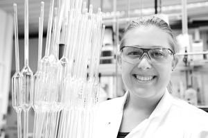 Melanie Krohn - Ausbildung zur Chemielaborantin bei Sasol