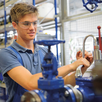 Tim: Ausbildung zum Industriemechaniker bei Sasol