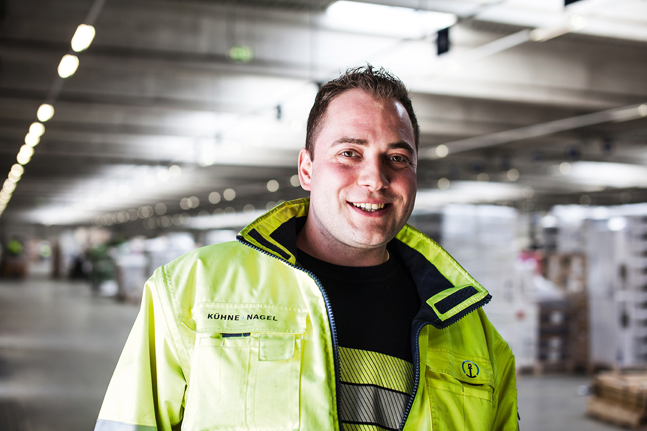 Mark Arahavelias - Fachkraft für Lagerlogistik bei Kühne + Nagel