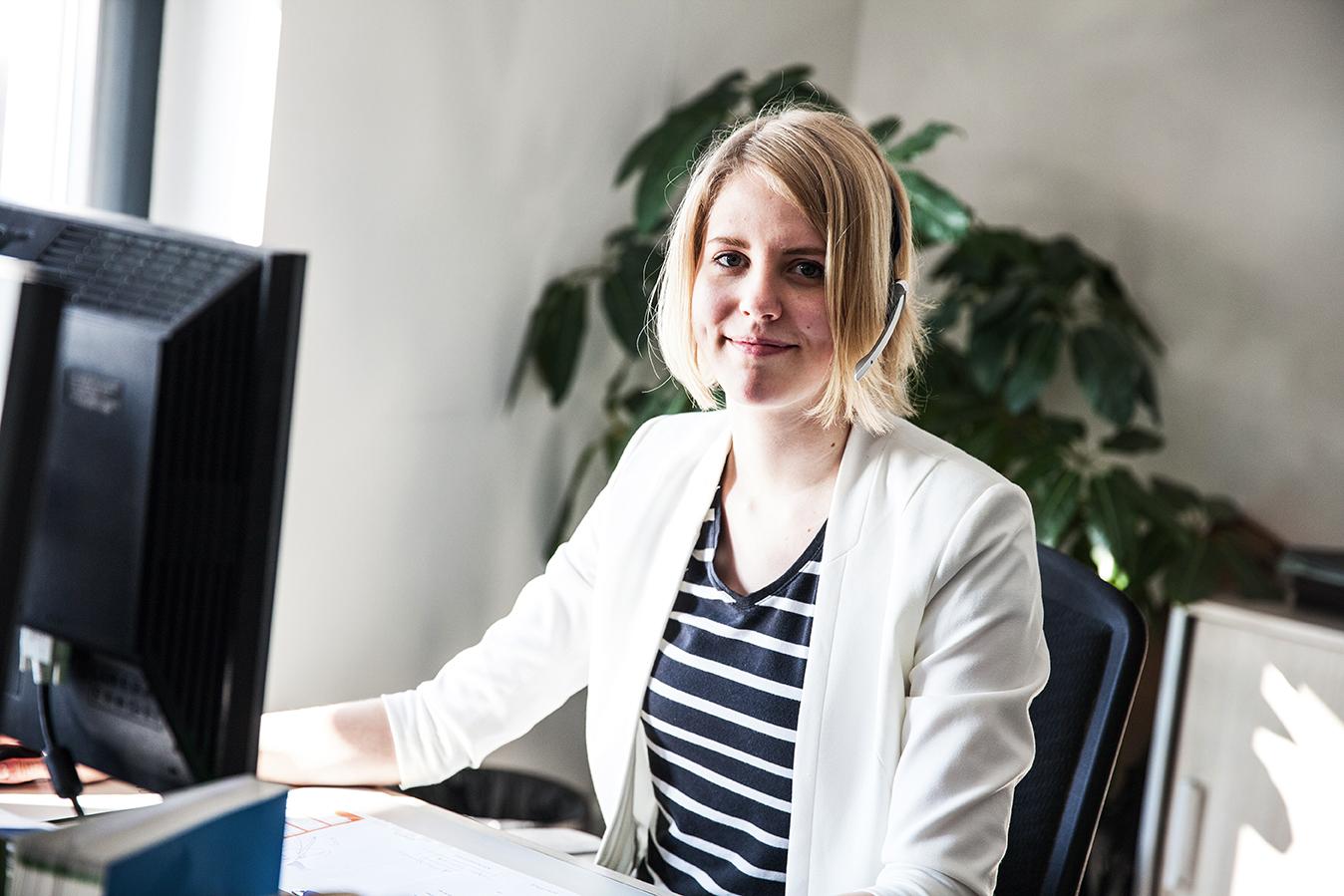 Freya Wittkugel - Duales Studium bei Kühne + Nagel Hamburg