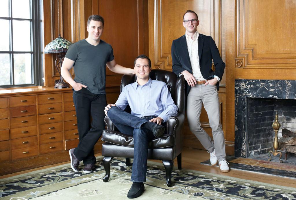 Airbnb-Gründerteam