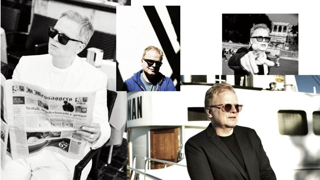 Eine Collage mit Bildern von Herbert Grönemeyer