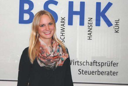 Anne: Ausbildung zur Steuerfachangestellten bei Benthin, Schwark, Hansen, Kühl