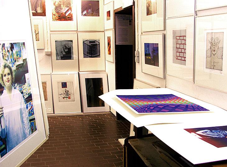 Galerie Nemo in der Artothek im Bootshaus Eckernförde (Foto: Galerie Nemo).