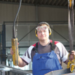 Finn: Ausbildung zum Metallbauer bei der Frey Stahl- und Leichtmetallbau GmbH