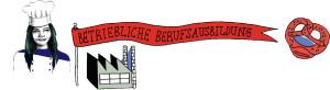 Illustration mit dem Thema Betriebliche Berufsausbildung.