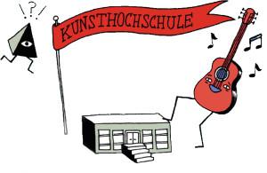 Illustration mit dem Thema Kunsthochschule