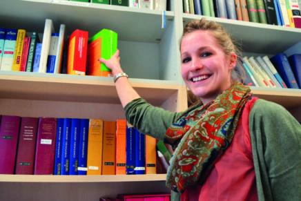 Rebecca: Pharmazie an der Christian-Albrechts-Universität zu Kiel