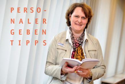 Personaler geben Tipps mit Bärbel Reimers