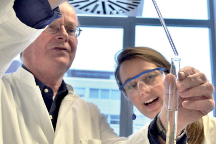 Kieler Pharmazie: Spitzenplätze beim Uni-Ranking