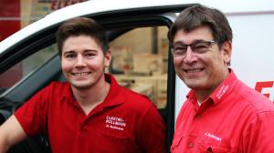 Strom im Blut – die Elektromeister Junior Heiko & Senior Jens