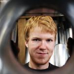 Dustin Borkenhagen (20)aus Neumünster, 3. Lehrjahr zum Dachdecker