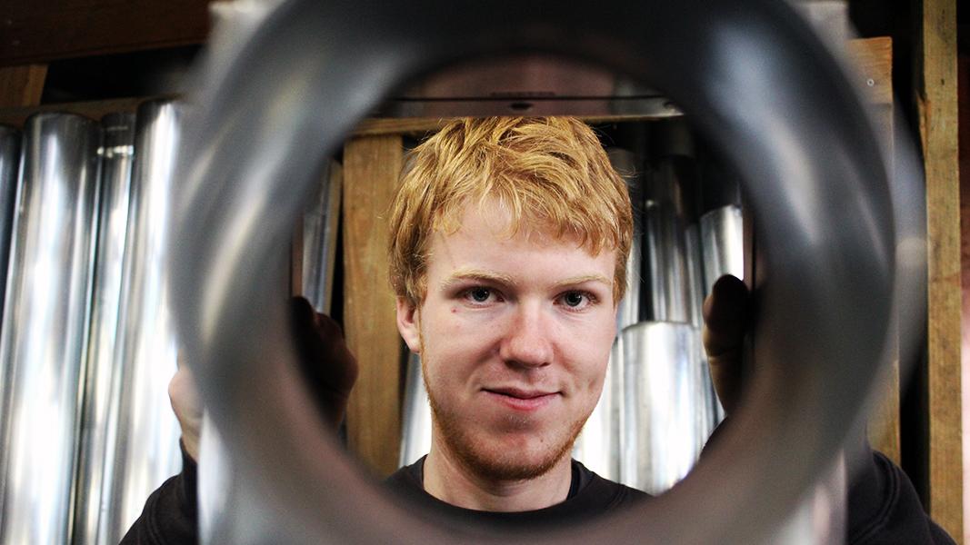 Jan-Christian: Wird Klempner bei der Dachdeckerei Bente
