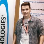Moritz Brandl (18), 1. Ausbildungsjahr zum Mechatroniker für Kältetechnik