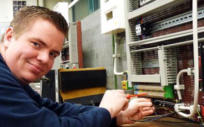 Steffen: Ausbildung zum Elektroniker bei den Stadtwerken Norderstedt