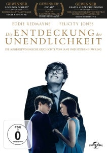 """Das DVD-Cover von """"Die Entdeckung der Unendlichkeit"""""""