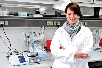 Sarah: Biomedical Engineering an der FH Lübeck