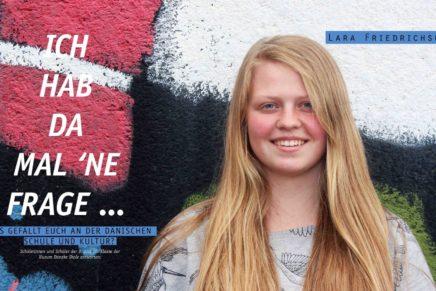 Was gefällt euch an der dänischen Schule und Kultur?