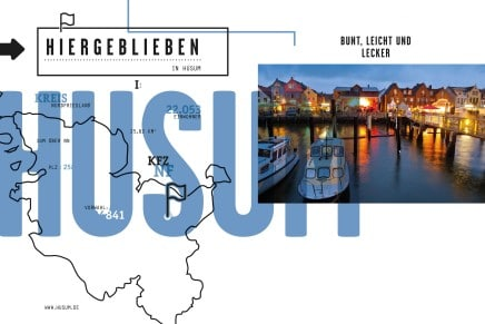 Stadt Husum – Bunt, leicht und lecker