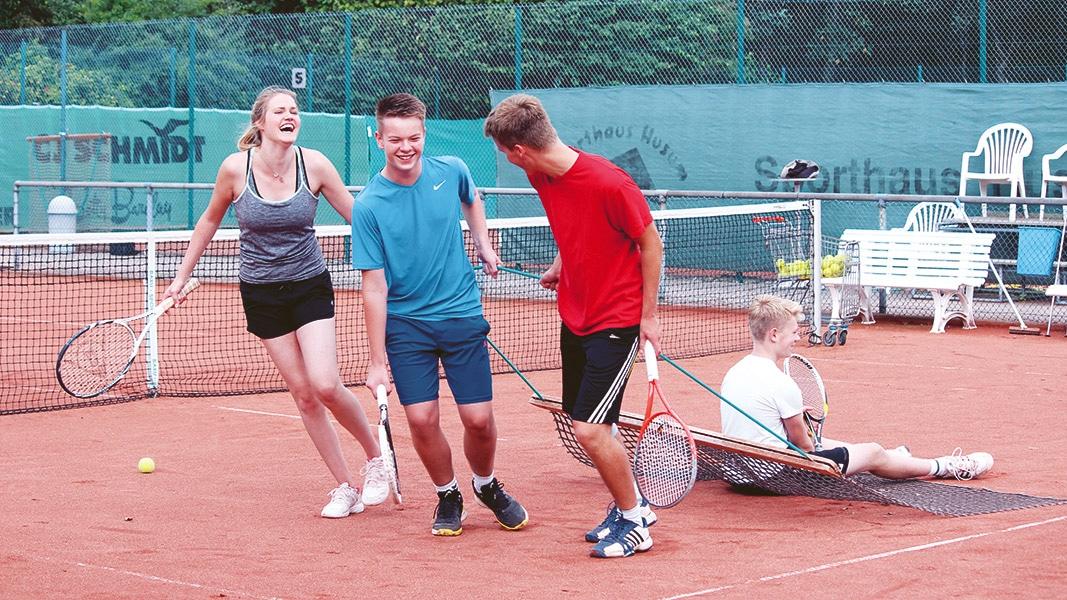 Zu Gast auf den Tennisplätzen des TSV Mildstedt