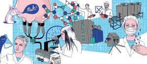 Mehr als Käse: Milchtechnologen sind begehrte Fachkräfte in Weiß