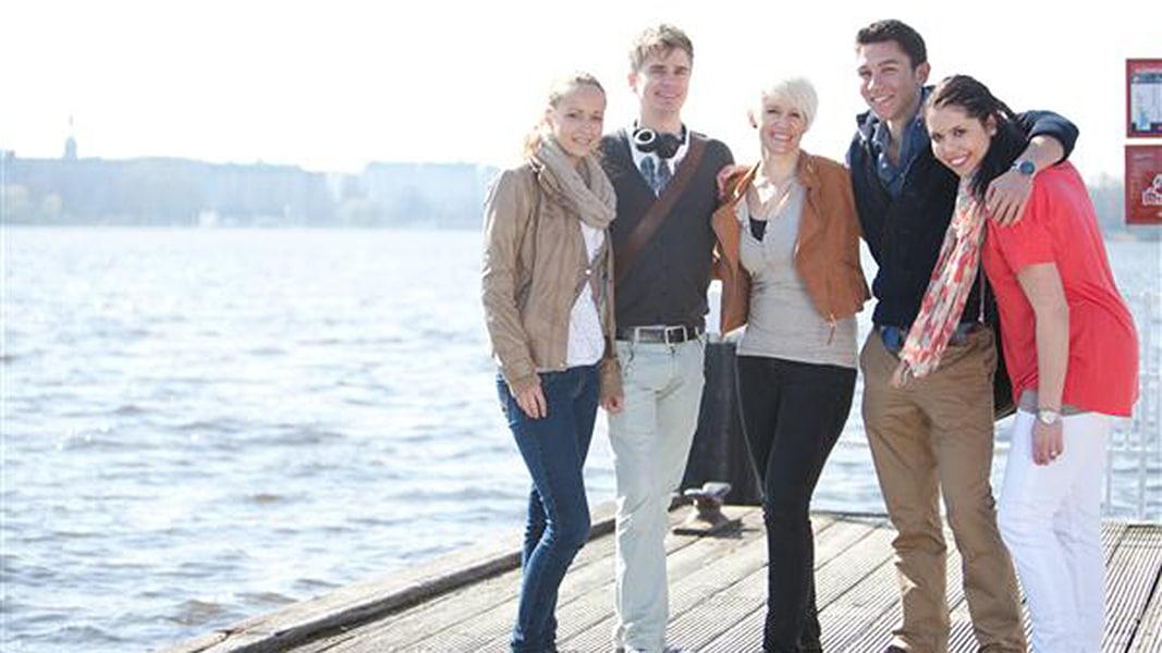 Studenten der Hochschule Fresenius in hamburg