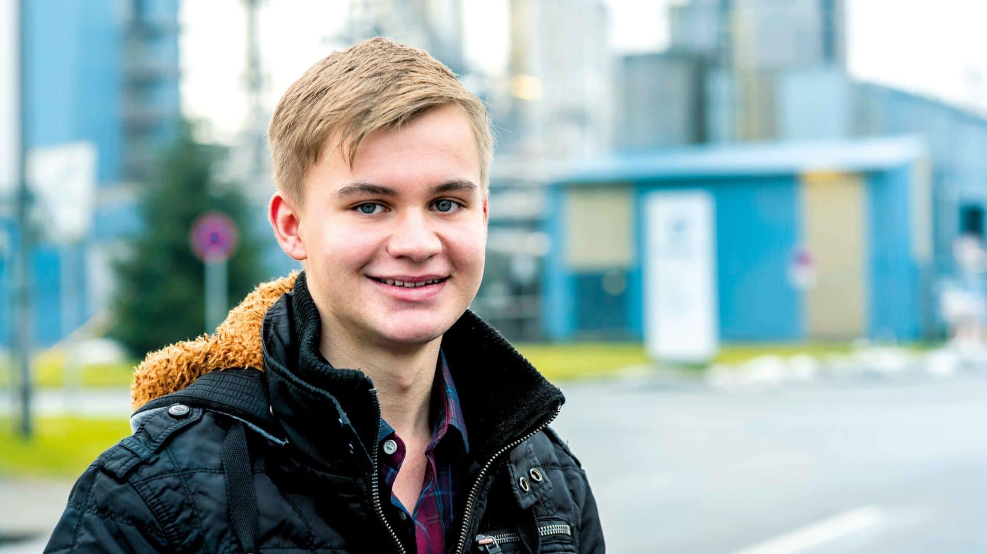 Melvin: Ausbildung zum Chemikant bei der Sasol Germany GmbH