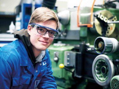Kevin wird Industriemechaniker bei YARA