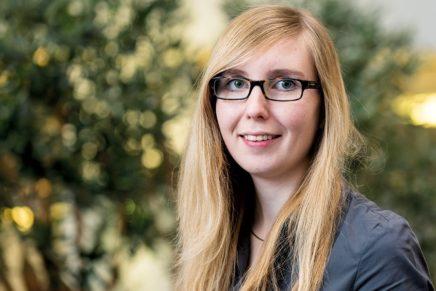 Sarah: Wird Bankkauffrau in der Dithmarscher Volks- und Raiffeisenbank eG.