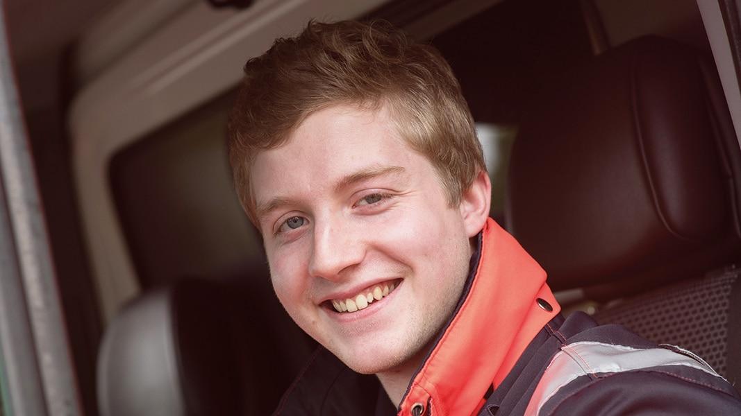 Leif: Wird Notfallsanitäter bei der RKiSH