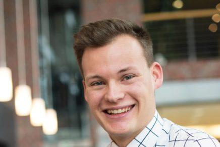 Stephan: Wird Bankkaufmann bei der VR Bank Flensburg-Schleswig eG