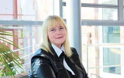 Heike Meissner ist Ausbildungsleiterin bei der Ferring GmbH