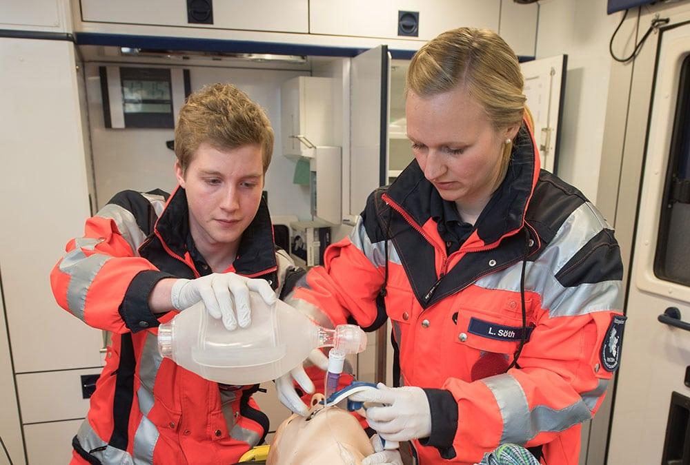 Beruf im Rettungsdienst