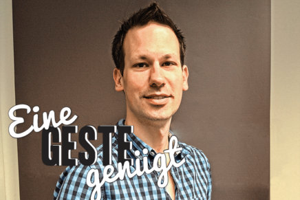 Lübecker Start-up-Unternehmen Gestigon begeistert mit berührungsloser Steuerung