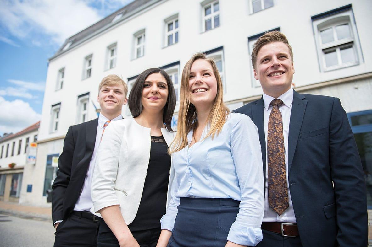 Das moderne Ausbildungskonzept der Schleswiger Volksbank