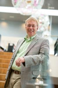 Stolz auf seine Schüler … Schulleiter Jørgen Kühl