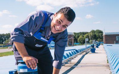 Ausbildung zur Fachkraft für Abwassertechnik beim AZV Südholstein